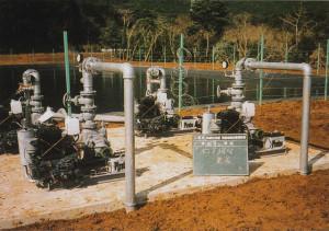 送水加圧ポンプ設置